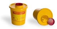 Емкость-контейнер для сбора острого инструментария EK-01, 0,5 (1) л