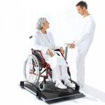 Электронные весы для взвешивания пациентов в инвалидном кресле, SECA 664